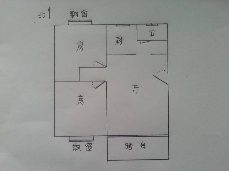 房东出租 东景花园 2室 1厅 78平米东景花园