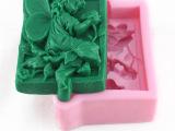 花仙子 3D 手工皂模具 DIY 香皂模具 硅胶翻糖模 蛋糕装饰