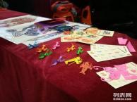 武汉剪纸转糖中国结写春联捏泥人民俗表演