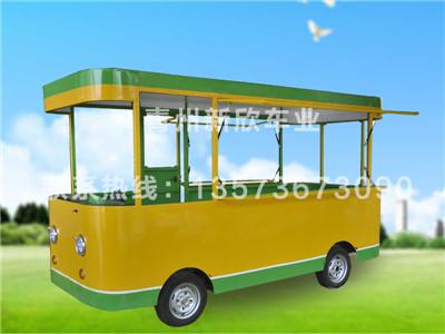 广告宣传车价格多少钱——优质的电动四轮餐车在哪有卖