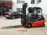 广州冷库叉车出租-林德E16C电动叉车租赁 4.77米
