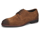 康盾流行男鞋真皮反毛皮男士休闲鞋时尚潮流真皮皮鞋鞋子男