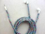 大量供应 彩色编绳耳机 绕线个性耳机 入