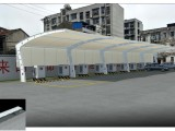 专业生产销售十堰地区膜结构停车棚,张拉膜汽车棚,充电桩雨棚