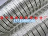 山东聚宁PU聚氨酯透明塑料软管耐高温耐磨材料软管厂家批发