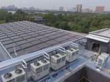 采暖热水新选择 大型太阳能+空气能热力系统