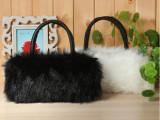2012新款韩版特卖秋冬季毛毛潮女包包可爱仿兔毛皮草单肩斜挎包