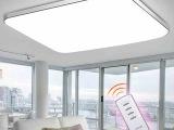 景行批发LED长方形苹果5吸顶灯卧室灯具餐厅房间灯现代简约大气
