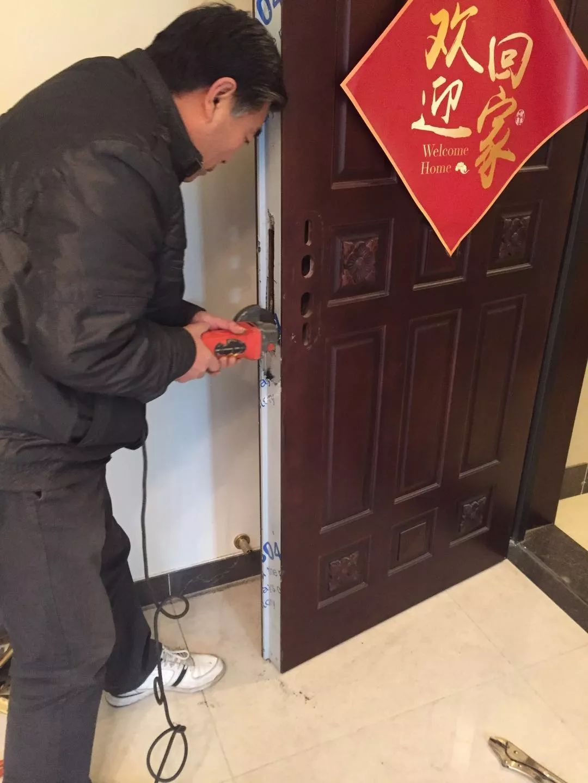 潍坊换锁芯指纹锁智能锁Kaadas凯迪仕指纹锁清华同方指纹锁