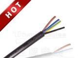国标无氧铜护套线多芯线电源线黑色白色电缆线