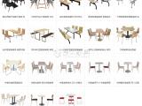 广州经济开发区供应欧式茶餐厅 咖啡厅 西餐厅桌椅卡座沙发组合