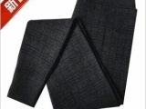 冬季男士打底裤 加厚加绒保暖裤黑色修身秋裤纯棉裤毛裤高腰裤