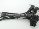生产DC母座线,白色线,USB线,LED公母对插线