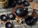 正品宜兴紫砂壶 龙德堂大富茶具套装 高档商务礼品 整套紫砂茶具