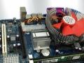 清华同方电脑机箱 G41集成主板+双核E6500