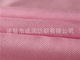 工厂现货直销 全涤华达呢斜纹化纤全涤面料 双面斜纹
