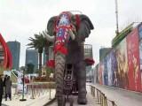 河北大型暖场道具出租 大型暖场道具大象租赁 机械大象出租