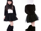 儿童童装女节舞台表演服021 可爱小熊猫万圣节cosplay服