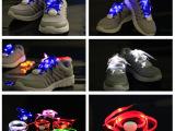 第五代欧美时尚流行火暴产品,LED发光鞋带,七彩发光鞋带现货批