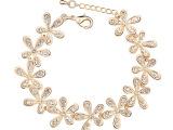 韩国时尚首饰饰品批发正品奥地利水晶手链--笑颜如花11129