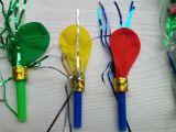 派对用品 生日玩具 儿童玩具 气球吹龙 气球口哨 50个/包/4