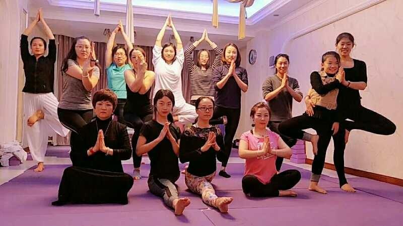 瑜伽免费练,你来不来