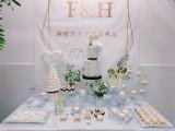 珠海婚礼蛋糕定制 甜品台定制 花式调酒表演 咖啡拉花暖场