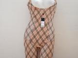 澳莱姿2891格子专柜正品连体收腹美体美背提臀产后恢复女束身衣