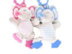 哈喜屋婴儿早教玩具宝宝磨牙玩具可爱小象牙胶婴儿磨牙牙胶磨牙棒
