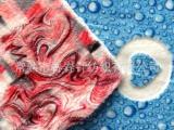 厂家直销印花剪花绣花珊瑚绒抽条阳离子珊瑚绒秋冬毯针织毛绒面料