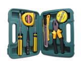 特价礼品组合8件套工具箱家用工具组合套装螺丝刀工具箱五金工具