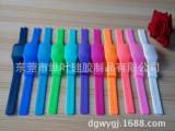 方形硅胶手表带 硅胶超薄LED表带  硅胶表带生产厂家  表带批