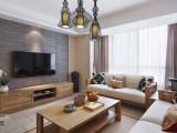 上海现代简约风格装修图片 美式装修效果图 客厅装修效果图