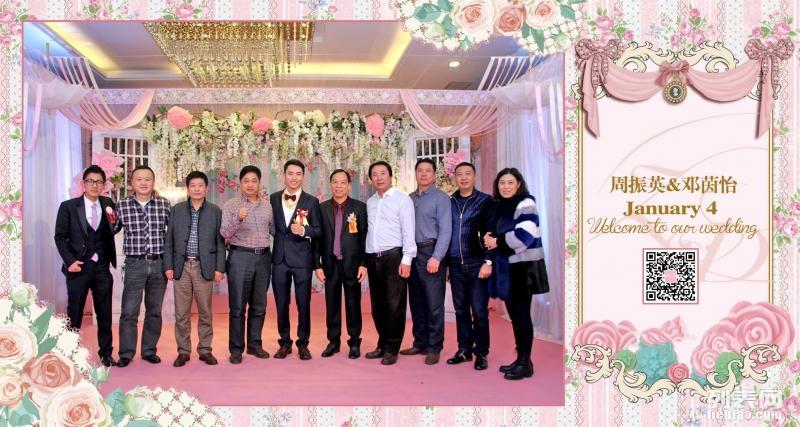 珠海达林婚礼婚庆宝宝宴迎宾区创意即影即有婚礼摄影
