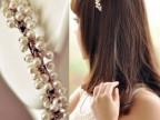 可爱小珍珠发箍 精美潮流韩版发饰头饰 韩式小米珠串珠头扣