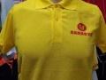 炸鸡店工作帽 养鸡场广告帽印字印图 阳春阳西海尔冰箱工衣T恤绣字