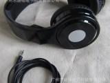 工厂耳机批发 头戴式电脑耳机 插线大耳机 OEM定制LOGO耳机
