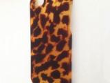 【工厂直销】苹果琥珀纹iphone5/S橡胶油保护壳手机保护套
