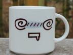 日用百货批发多样韩式陶瓷表情杯马克杯牛奶早餐杯情侣杯可加LOGO