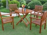 青岛折叠桌椅/青岛实木桌椅/户外桌椅/庭院桌椅/青岛咖啡桌椅