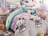 免费新款卡通法莱绒四件套床上用品冬季保暖家纺代理厂家批发