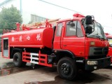 国五东风153十二吨消防洒水车