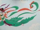 专业3D立体画 餐饮个性彩绘涂鸦 文化墙 手绘壁画