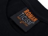 男式丅恤 印花t恤3dt恤 蜥蜴图案T 动物图案T 个性服饰T黑