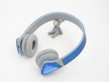 2014新款 4.0双声立体 超魔音 三星苹果手机电脑 头戴式蓝