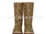 北美风格皮毛一体雪地靴 里料羊皮毛一身体 OEM鞋加工 下订单生