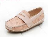 童鞋2014新儿童豆豆鞋学步软底皮童鞋一件代发货淘宝货源免费代理