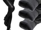 秋冬加绒加厚仿皮打底裤 大码弹力保暖裤 小脚皮裤 秋冬女装