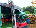 力至优1.5吨电动叉车 日本进口三点式电瓶叉车