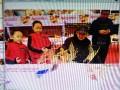 武汉民俗表演剪纸转糖中国结写春联泥人18008640650